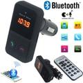2016 el más nuevo BT301 LCD Bluetooth inalámbrico FM del modulador del transmisor Kit de coche reproductor de MP3 USB SD remoto, Free & Drop Shipping