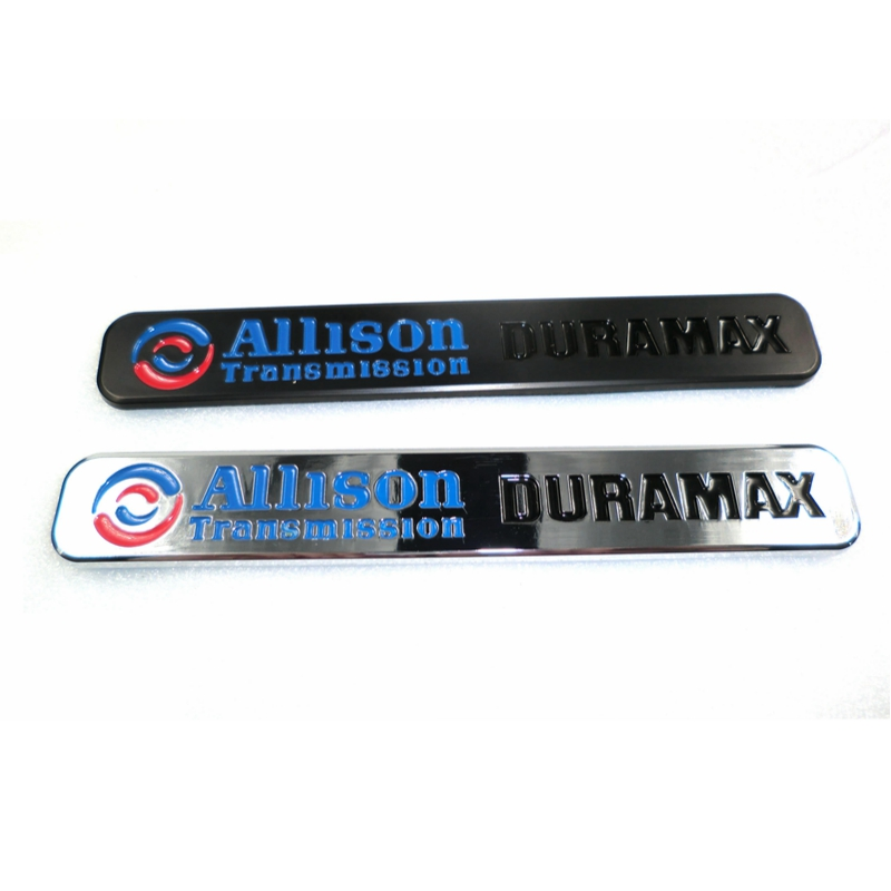 100 st / lot Kampanjvaror Allison Transmission Duramax Emblem Badge Logo