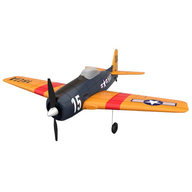 US $63 99 50% OFF|F6F 2 4G 4CH 6 Axis Gyro Easy Flying Trainer EPO Warbird  RC Airplane RTF for RC Kids Toys-in RC Airplanes from Toys & Hobbies on