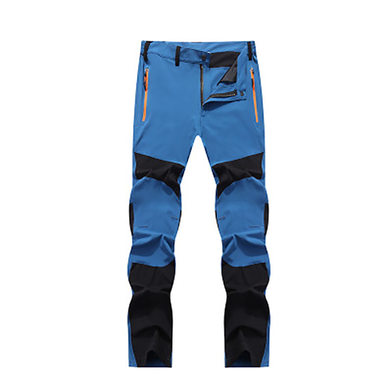 Men Hiking Pants Quick Dry Thin Elastic Pants Windproof Breathable Waterproof Outdoor Sports Camping Hiking Mountaineering 66666 mens breathable quick dry hiking pants ripstop tactical pants waterproof fast dry multi pockets summer sports riding pants