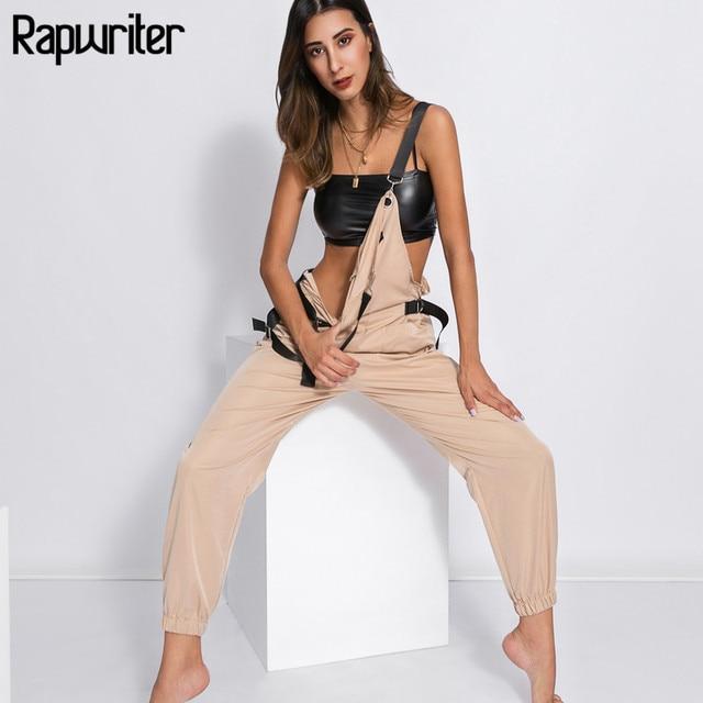 Mamelucos de moda de algodón de cintura alta ajustados sin mangas 2018 para mujer