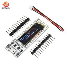 0.96 Inch Blauw OLED Display CP2014 ESP8266 WIFI Draadloze Internet van Dingen Development Board esp 8266 voor Arduino NodeMCU IOT