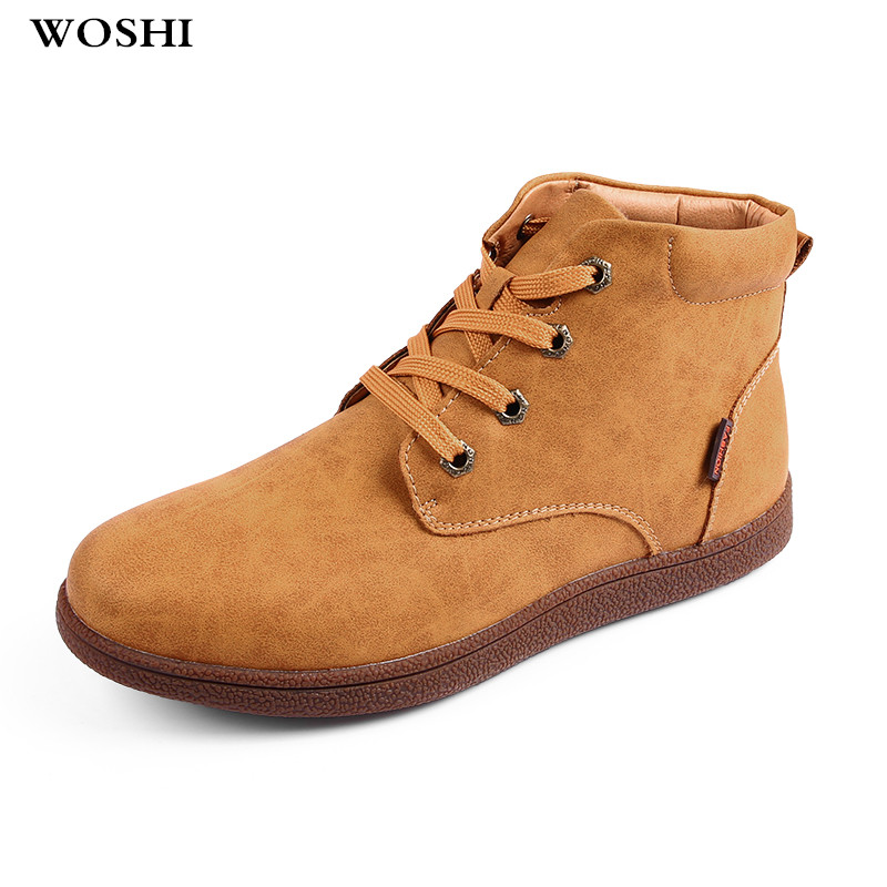 big size 48 Keep Warm Winter Men Boots Leather Casual Ankle Boots Men Shoes with Plush Fahsion snow boots Footwear shoes men k3 zenvbnv winter leather men boots work casual boots men keep warm shoes male rubber snow cow suede leather ankle boots for men