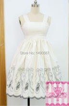 Princess Dresses Anime Uniform Cosplay Costume Halloween Sweet Lolita Dress Christmas Babydoll Dress White S L