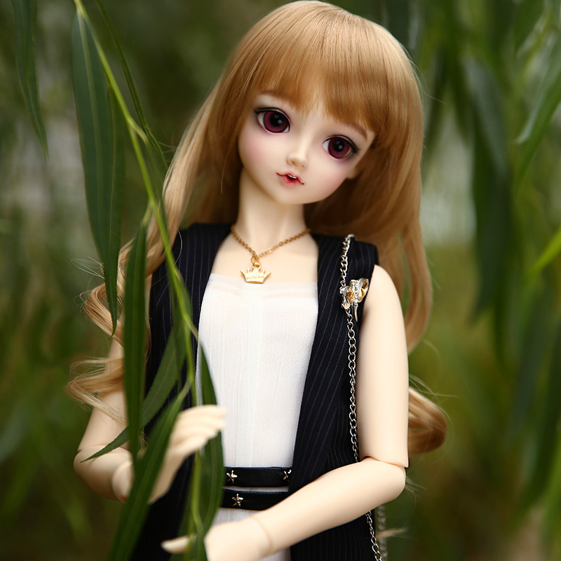 Lieselotte 1/3 BJD Doll MSD High Quality Toys Shop Resin Ball Joint Doll Fullset including clothes wigs eyes 2