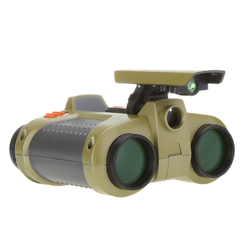 2019 heißer 1pc 4x30mm Nacht Vision Viewer Überwachung Spion Umfang Fernglas Pop-up Licht Werkzeug