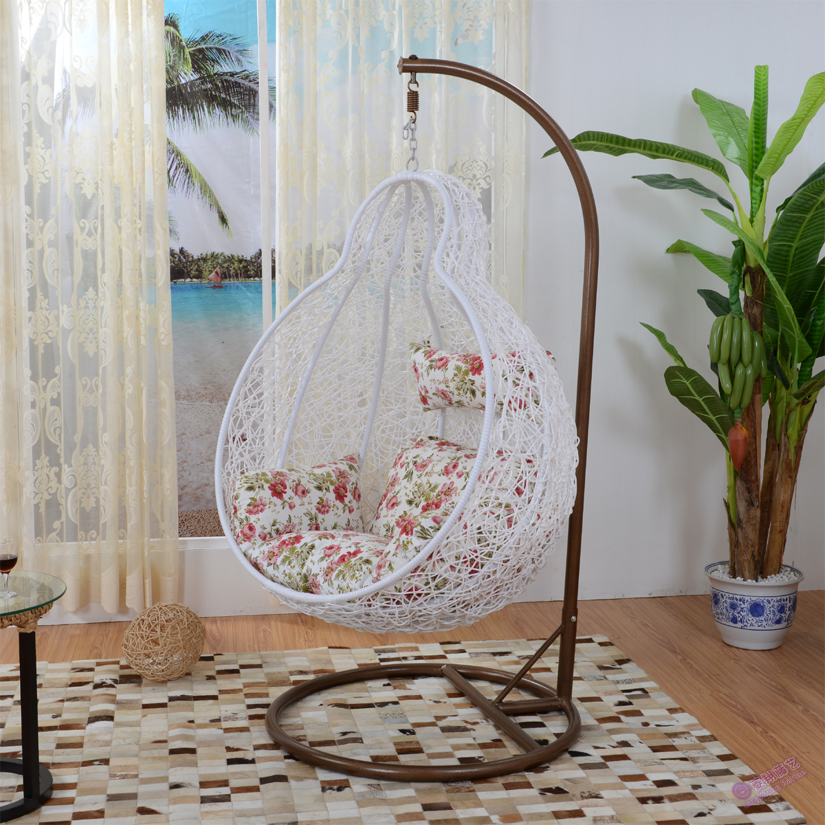 Online buy wholesale rattan swing chair from china rattan for Outdoor furniture egypt