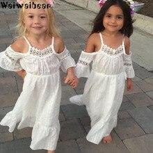 Waiwaibear Summer Baby Children Girls Dresses Princess Dress Kids Baby Party Wedding Pageant Formal Cute Dresses Clothes ZT8 цена в Москве и Питере