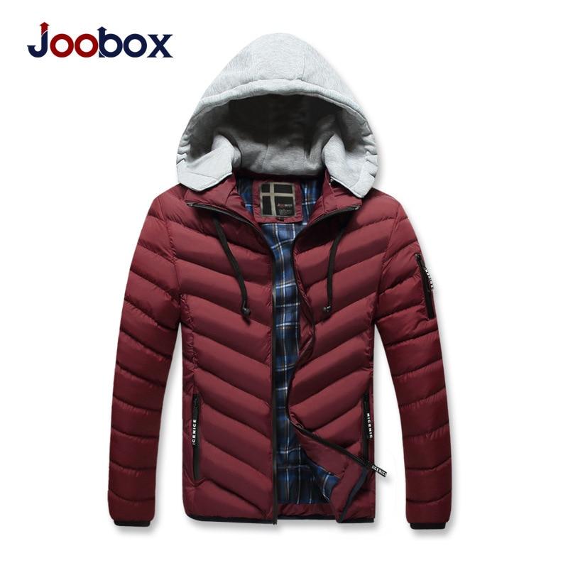 JOOBOX Marke 2017 Polyester Winter Jacken Und Mäntel Dicke Warme - Herrenbekleidung - Foto 2