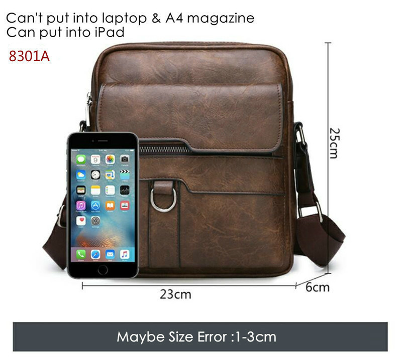 HTB1Ig.CeROD3KVjSZFFq6An9pXar New Men Briefcase Bags Business Leather Bag Shoulder Messenger Bags Work Handbag 14 Inch Laptop Bag Bolso Hombre Bolsa Masculina