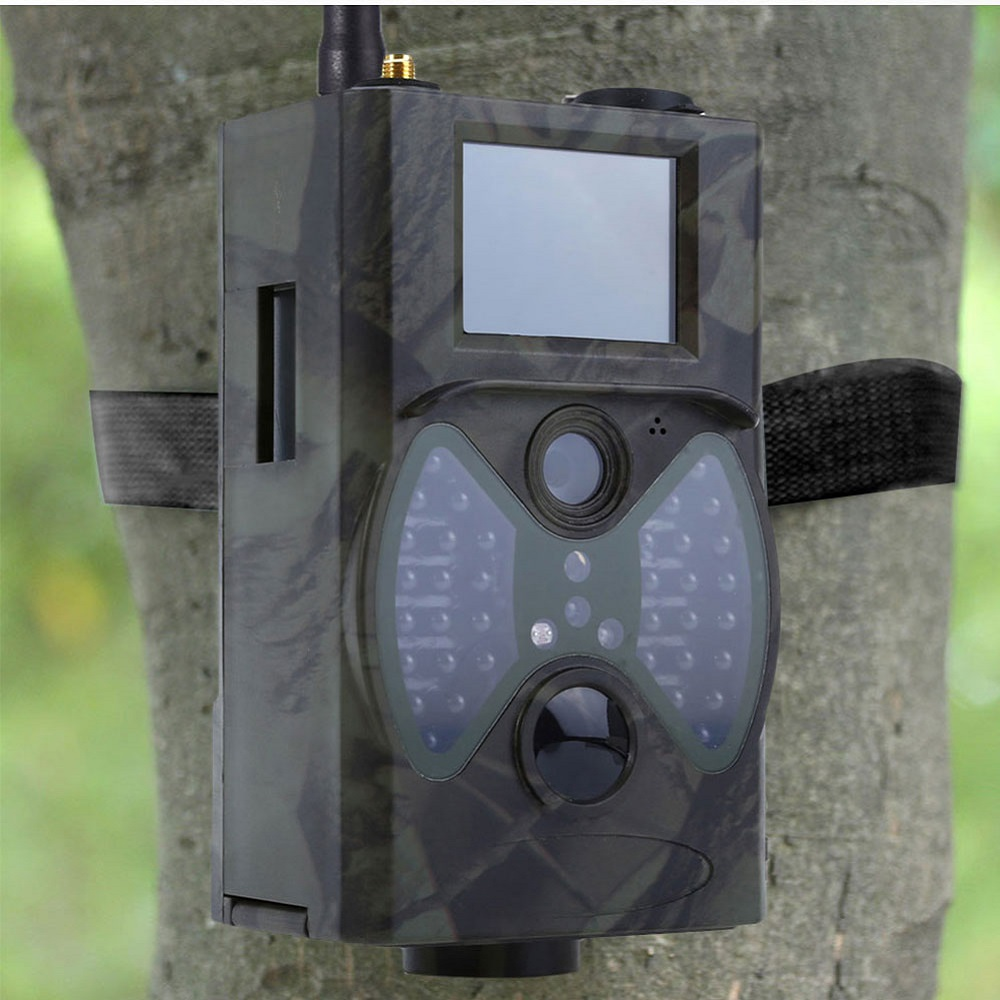 16MP pièges Photo Email MMS GSM 1080 P Vision nocturne pièges de Chasse HC300M Chasse sauvage caméra Trail caméra faune caméra Chasse