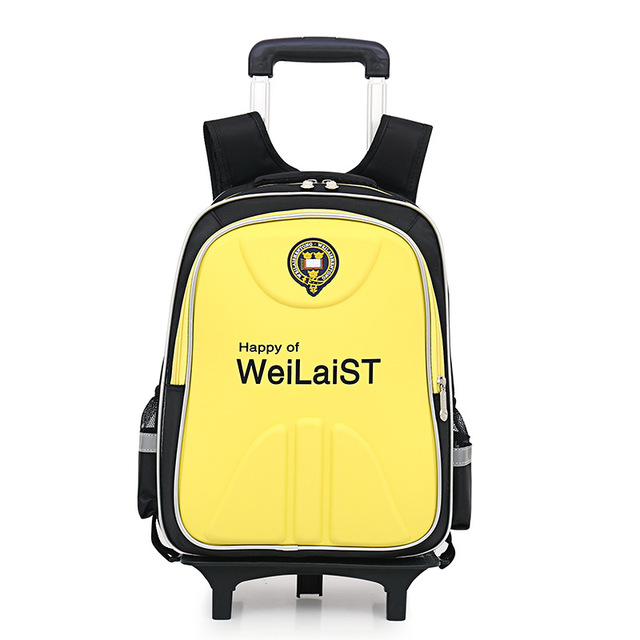 ae817a06d1b6 2018 New Fashion Trolley School Bags for Boys Girls Brand Children Backpack  Cheap Shoulder Bag Large Capacity Kids Schoolbag