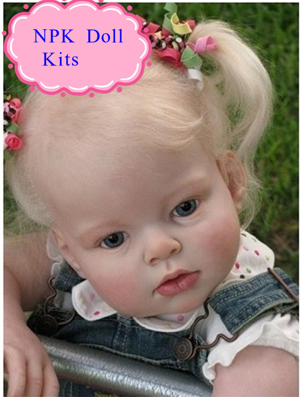 Super Good Price 70cm 28'' Real Touch Silicone Vinyl Reborn Baby Doll Kit To Make Reborn Baby Doll For Children Hot Accessories good price reborn baby doll kits for 17 baby doll made by soft vinyl real touch 3 4 limbs unpainted blank doll diy reborn doll