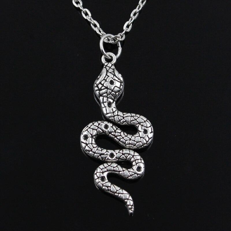 Nova moda cobra cobra pingentes redondo cruz corrente curta das mulheres dos homens cor prata colar jóias presente