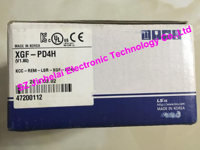100% New and original  XGF-PD4H  LS(LG)  PLC  Special module  Positioning module 100% new and original xbe dc16a ls lg plc 16 point dc24v input