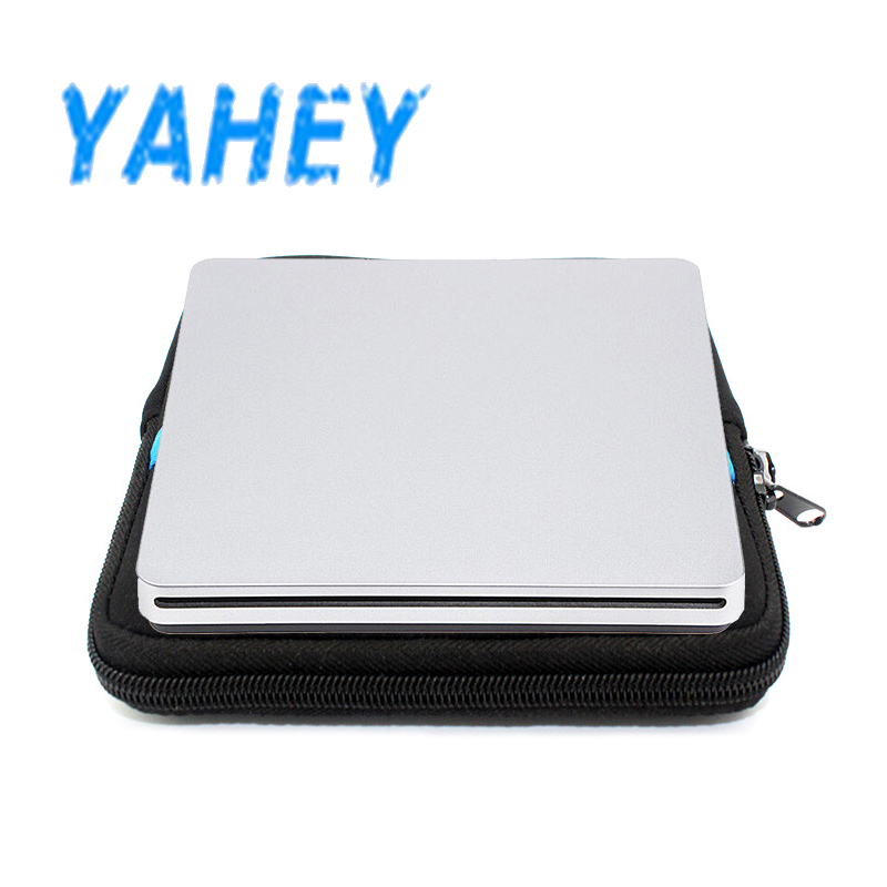 USB 2.0 Slot Load External DVD Player CD/DVD-RW Burner Optical Superdrive for Apple Macbook Pro Air Laptop +Drive case pouch bag blu ray bd rw dvd rw external usb 3 0 apple macbook macbook pro for other laptop desktop with macbook air or usb port