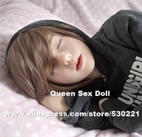 WMDOLL Top quality oral sex doll head with closed eyes, sex toys for men silicone dolls, sex products