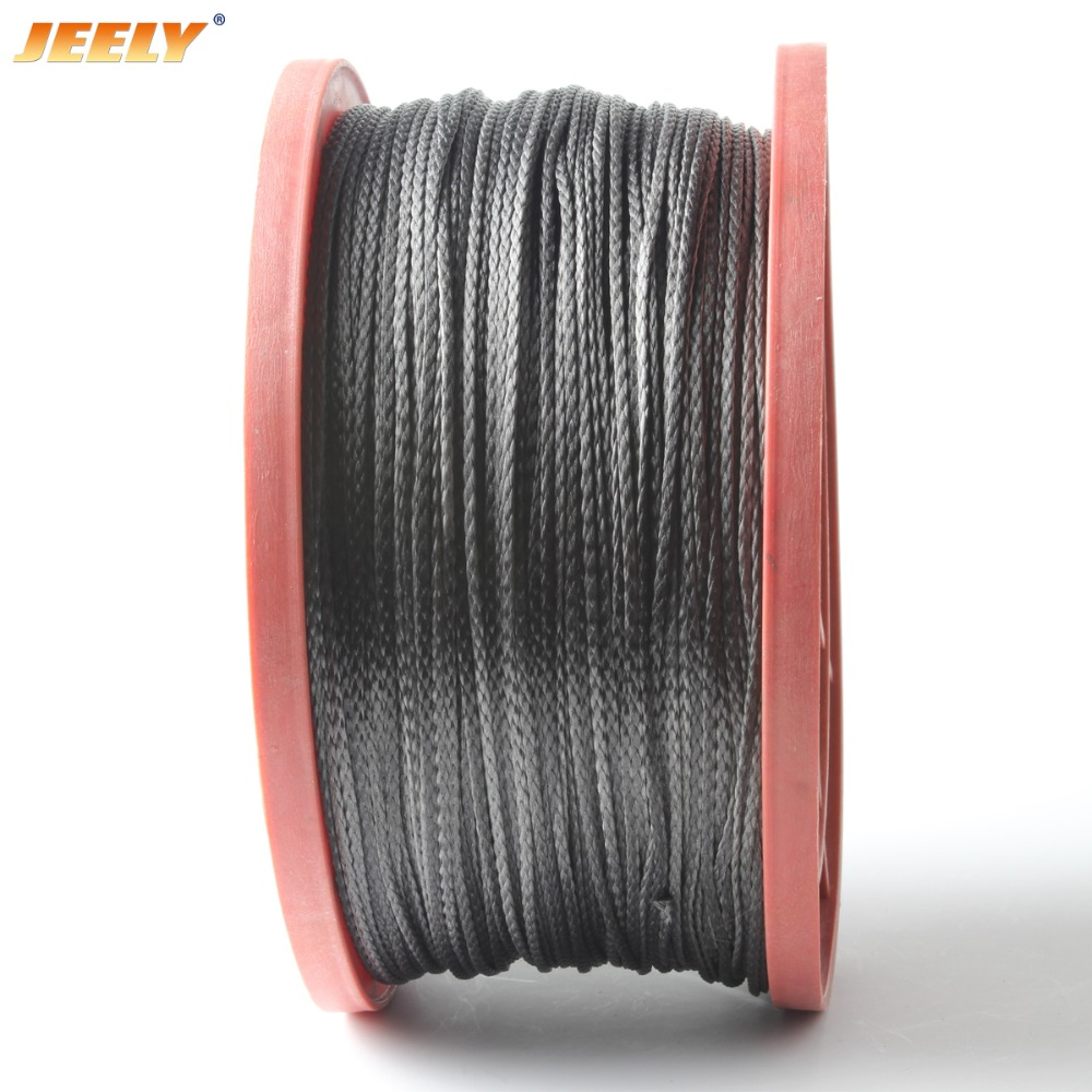 JEELY 10m 2mm 8 Strand 1000lb Spearfishing Towing Line Spectra For Hammock Whoopie Sling