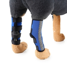 Dog Hock Brace Leg Joint Wrap Protects Wounds Compression Helps Arthritis Stability Bandage Z