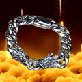 925 silver jewelry bracelet men dragon chain Bijoux alibaba-express sterling-silver-jewelry