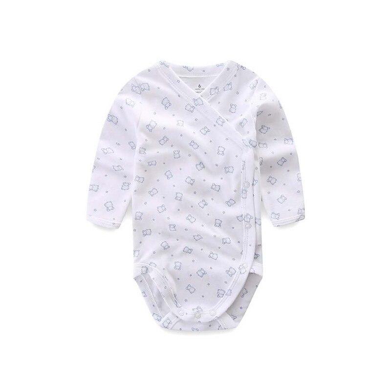 5 шт./лот Детские боди для новорожденных на осень 100% хлопковые боди с длинными рукавами для малышей; Нижнее белье; Комбинезоны для новорожденных мальчиков пижамы для девочек, одежда 5
