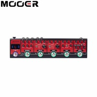 MOOER Red Truck Effect Pedal Modulation Delay Reverb Distortion Overdrive Boost Modules Built In Tuner Tap