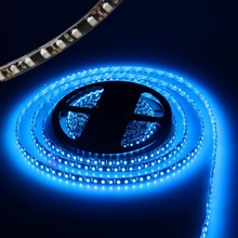 led strip light3528 black pcb waterproof IP65 600led 5m daylight warmwhite red green blue DC12V