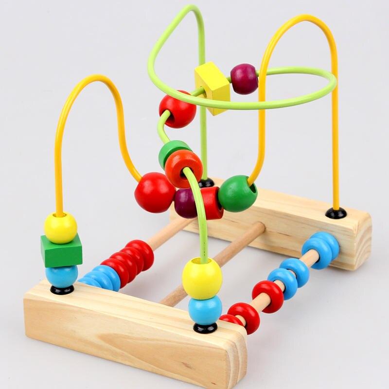 BabyToys Classic Toy Bead Maze Game Балалар - Дизайнерлер мен құрылыс ойыншықтары - фото 2