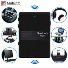 Nuevo Bluetooth V4.1 2en1 Transmisor Y Receptor de Música Audio Estéreo 3.5mm Aux Adaptador Dongle para iPod DVD TV PC Car Home Estéreo