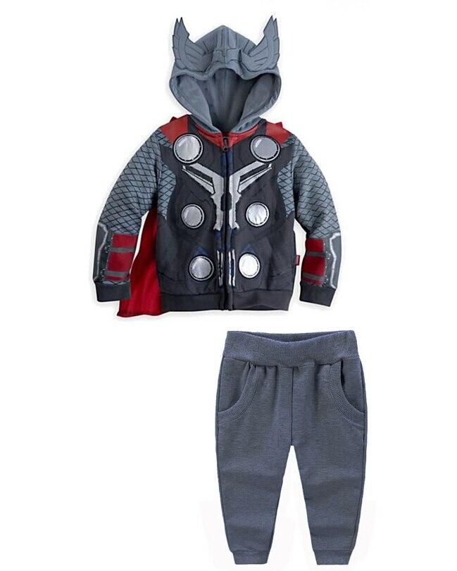 New 2015 Boys The avengers Sport Cotton Clothing Set,Children Iron Man hoodies+Pants 2Pcs Clothes Suit,Baby Boys Clothing женские толстовки и кофты 2 piece set women 2015 2 sport suit