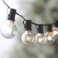 33ft Outdoor String Lights G40 String Light Bulbs Listed Festoon Lights For Indoor Outdoor Cafe Bar