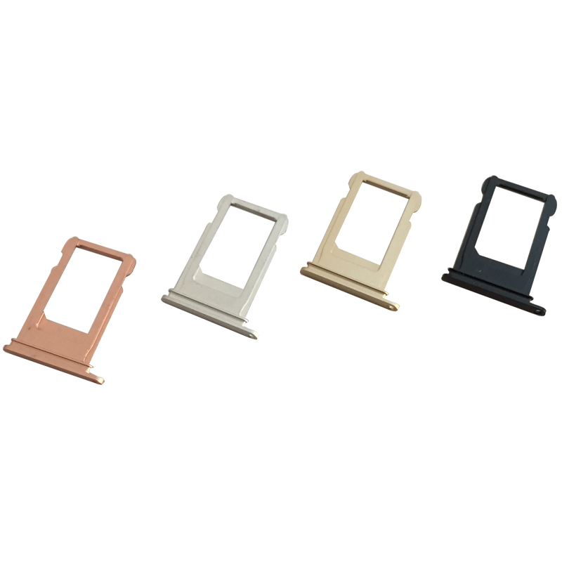 10 Pcs/lot, Nano SIM Card Holder Tray Slot for iphone 7 Plus SIM Card Holder Adapter Socket Accessories New Original