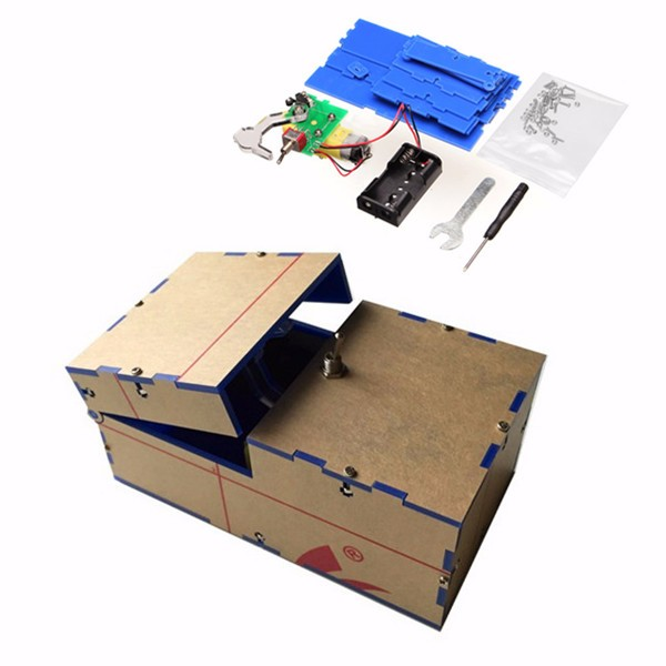 Useless Box DIY Kit Useless Machine Birthday Gift Toy Geek Gadget Fun Office Home Desk Decor children funny lucky game gadget joke toy projectile fun