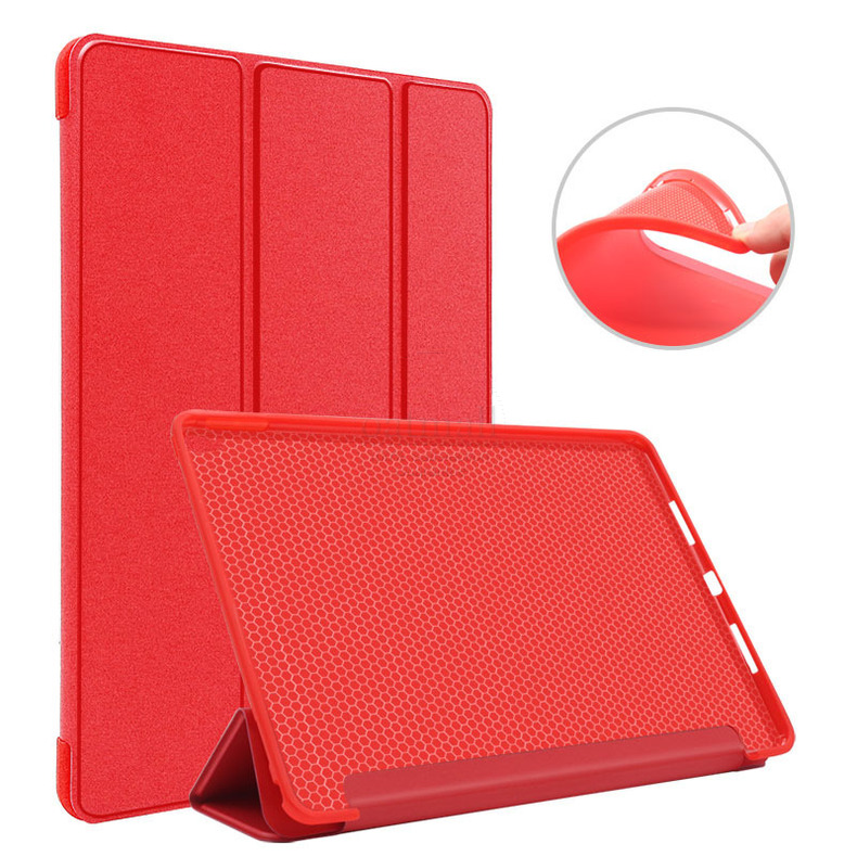 New PU Leather Smart Folio Cover For Ipad Pro 11 Inch Case Trifold Tablet Stand Magnet Auto Sleep With Silicon Soft Back