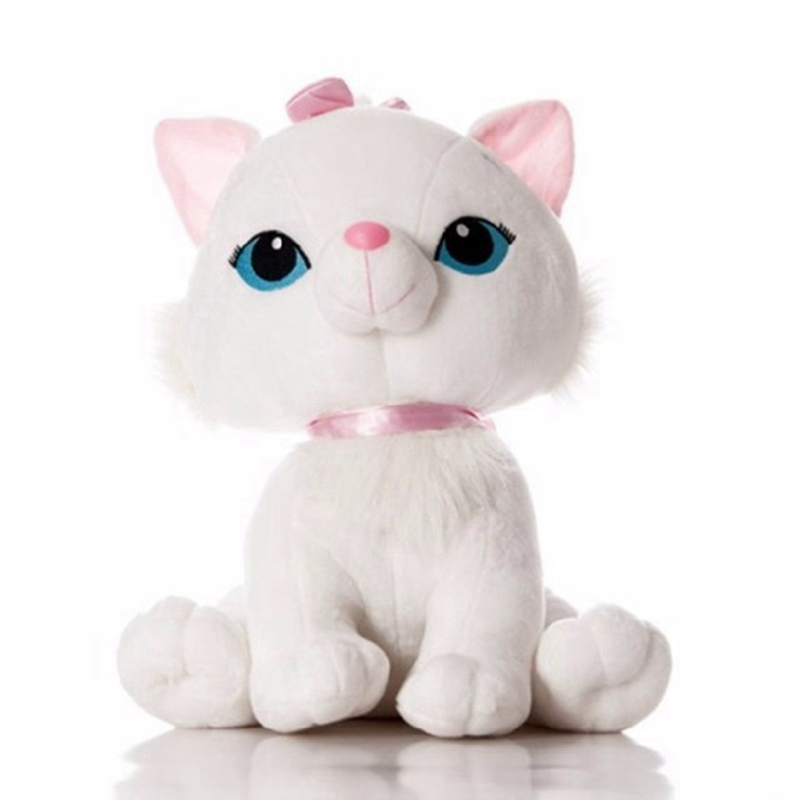 1PC 25/40cm 2 Color Cute Simulaton Aristocats Cat Marie Plush Animal Stuffed Toys For Kids Birthday Christmas Gifts