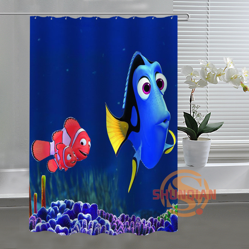 G Finding Nemo Pictures Shower Curtain Best Selling