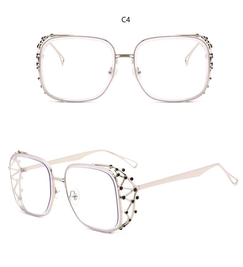 HTB1Ig4sk6ihSKJjy0Fiq6AuiFXag - Steampunk Square Luxury Designer Rhinestone Sunglasses