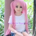 Oral Sex 100cm Sex Doll Real Silicone A Cup Chest for Men Rubber Woman Love Dolls Small Breast Anal Ass Vagina Sex Free Shipping