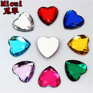 Micui 50pcs Stones Crystal crafts Decorations DIY 9e8f9c59094f