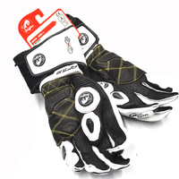 Motorcycle Racing Knight Leather Gloves Furygan ANTS AFS10 Bicycle Touch Screen Glove Protect both hands and wear resistant