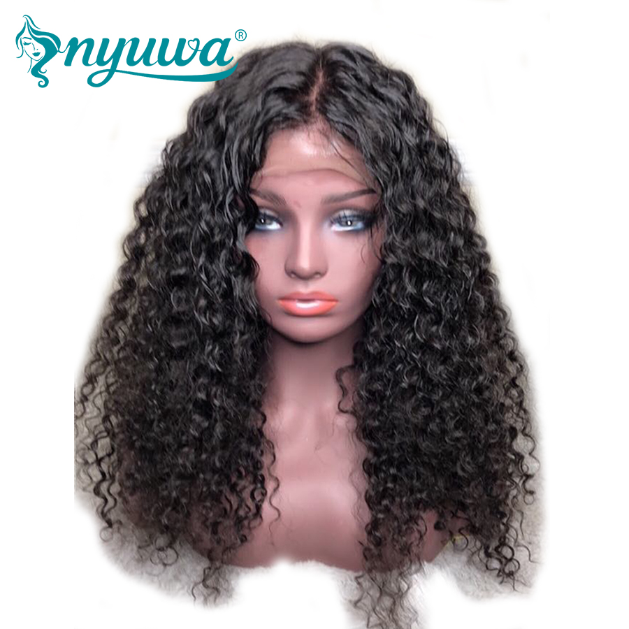 Purposeful 13x6 Lace Front Human Hair Wigs For Woman 150 Density Pre Plucked Hairline Bleached Knots Baby Hair Curly Brazilian Remy Hair Driving A Roaring Trade Lace Wigs Human Hair Lace Wigs