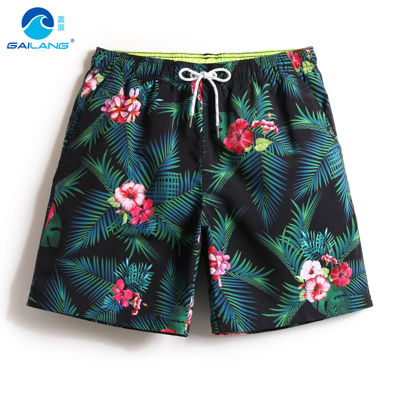 Couples   board     shorts   men swiming trunks swimwear men beach surf quick dry swimsuits bathing liner sexy print swim   short   praia
