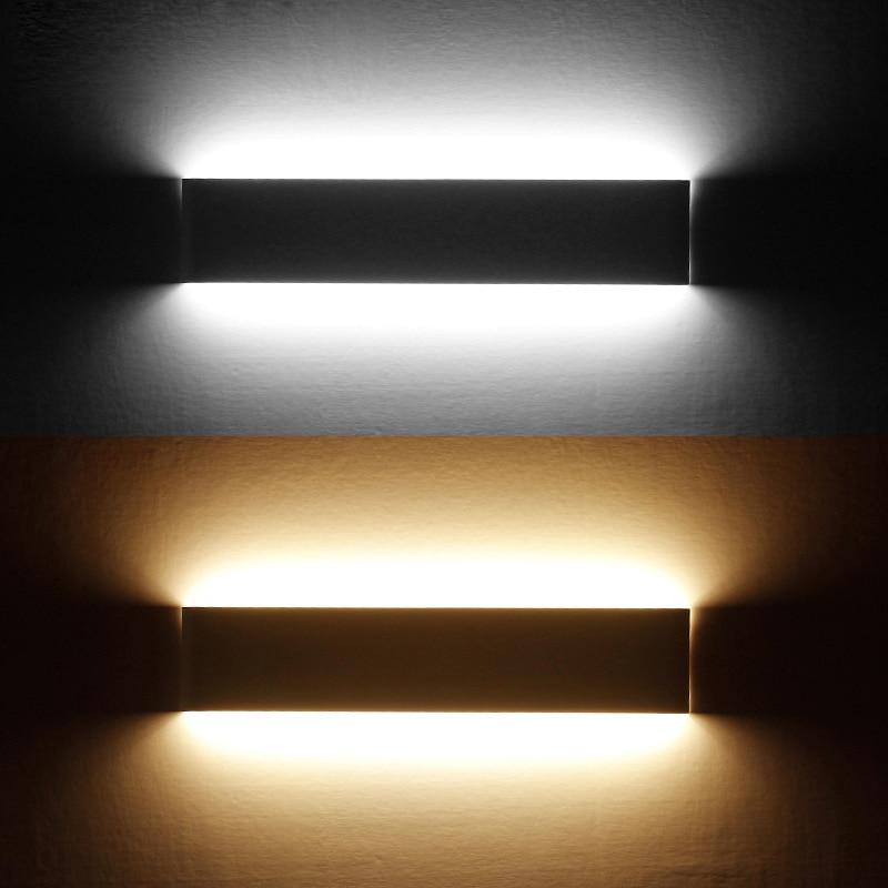Sodobne minimalistične stenske svetilke LED aluminijaste spalne - Notranja razsvetljava - Fotografija 5