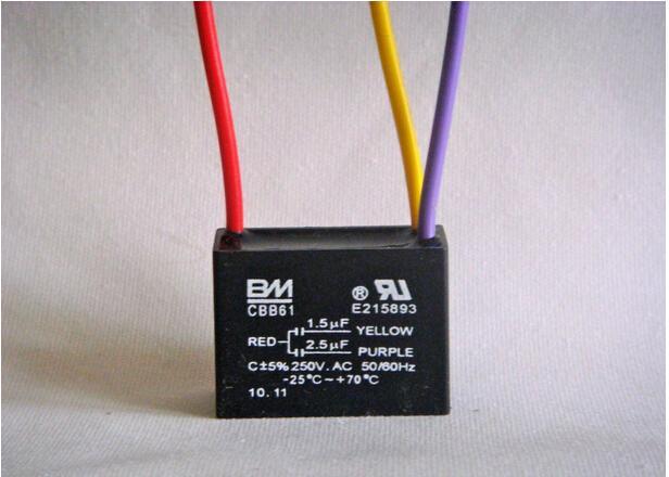 Deckenventilator Kondensator 3 draht 1,5 uf 2,5 uf für BM 1Z682 in ...