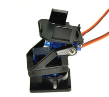 Servo bracket PT Pan/Tilt Camera Platform Anti-Vibration Camera Mount for Aircraft FPV dedicated nylon PTZ for 9G SG90 MG90S