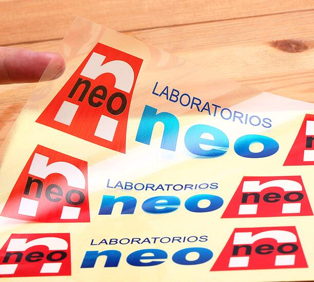 Customized Transparent Clear Labels Stickers Tags, Sticker Packing Labels With Custom Logo Text Adhesive Stickers Labels