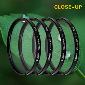 Image 2 - Zomei 52/55/58/62/67/72/77/82mm +1 +2 +3 +4 +8 +10 Optical Glass Lens Filter Close Up Macro Filter For Canon Nikon Sony Pentax