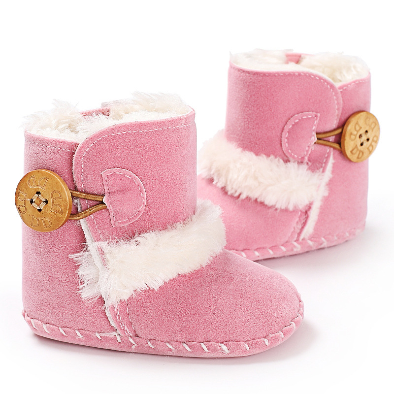 Baby Shoes Soft Soled Infant Toddler First Walkers Shoes Newborn Baby Winter Snow Boots Thickening Vans Cute Shoes