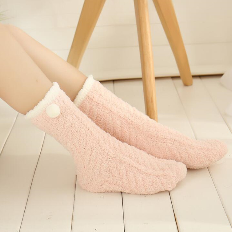 Fuzzy Winter Socks 2