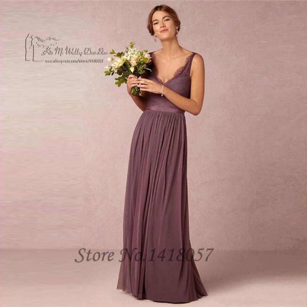 Moderno Vestidos De Dama De Boda Occidentales Colección - Colección ...